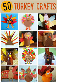 50 turkey thanksgiving crafts mess for less