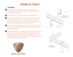 Open Carport by Carports U2013 Galvatec