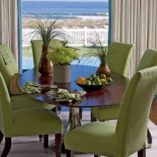 Green Dining Rooms by Beach House Dining Rooms Coastal Living