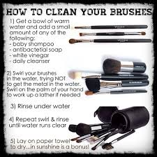 tutorial on how to clean your younique brushes if you re going to use