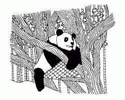 panda coloring pages for adults kids coloring