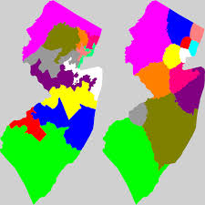 New Jersey Map New Jersey Redistricting