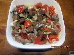 cuisine langue de boeuf recette de salade de viande langue de boeuf