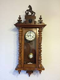 Antique Curio Cabinet With Clock Antique Wall Clock Made By German Manufacturer From 1900 U0027s By