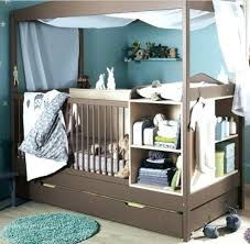 Mini Crib With Attached Changing Table Baby Room Principalchadsmith Info
