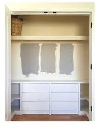 bureau secr aire ikea ikea hack closet built ins baby s room closet storage