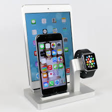 premium one w3 triple dock u0026 charging stand for apple watch