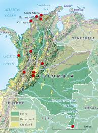 Agrarian Skies Map Mapping The Highlights Of Colombia