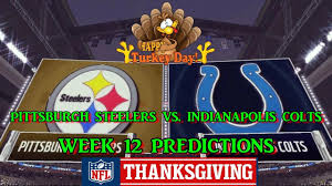 pittsburgh steelers vs indianapolis colts predictions nfl week