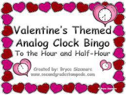 valentines bingo s themed time bingo
