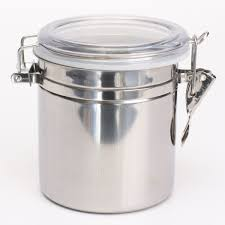 Stainless Steel Canisters Kitchen Kitchen Metal Storage Containers U2013 4 Sizes U2013 Fox Shopper