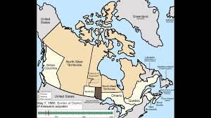 Map Of Canada With Provinces by Animated History Of Canada Territorial Evolution Youtube
