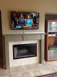 home decor mounting tv on brick fireplace install tv mount on