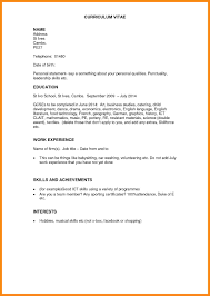 Music Manager Resume 6 How To Write Work Experience In Cv Example Manager Resume