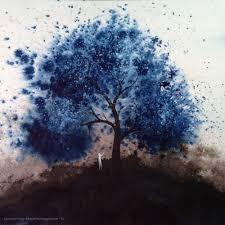 wind art blow at life blue wind