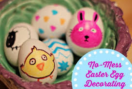 easter eggs for decorating no mess easter egg decorating sharpie easter egg designs