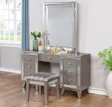 Youth Vanity Table Brazia Youth Bed With Mirror Accents