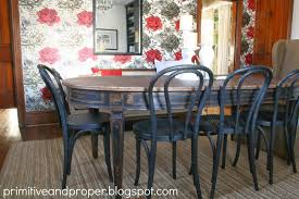 Vintage Dining Room Chairs by Stunning Vintage Dining Room With Wallpaper Direct Addition