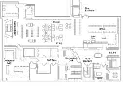 Computer Lab Floor Plan Floorplans Bu Libraries Boston University