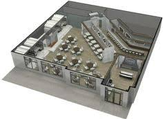 restaurant rendered plan style by design one day is one day