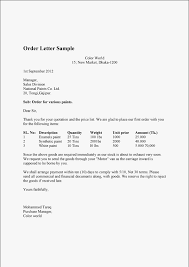 Order Confirmation Template by Order Letter Sle And Order Confirmation Letter Sle