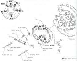 nissan altima emergency brake nissan titan parking brake adjustment diagram