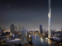 thailand is building a 459 metres high observation tower in