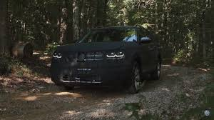 india bound volkswagen teramont large suv teased in new video