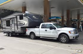 ask tfltruck can i tow a 5th wheel camper with a ford f150 half