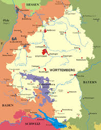 Bavaria Germany Map by