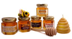 honey jar wedding favors canadian honey wedding favours baby showers baptisms