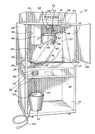 dual master suites patent us20130280386 popcorn machines and other food service