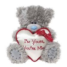 be mine teddy me to you tatty teddy 23cm i m yours you re mine