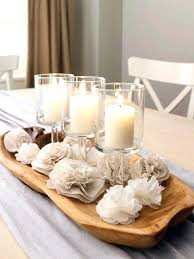 candle arrangements dining table artificial floral centerpieces dining table