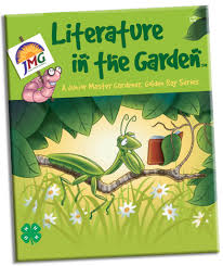 literature in the garden junior master gardener