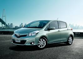 toyotas new car 2012 toyota yaris previewed by new japanese market vitz car and
