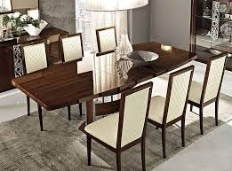 italian dining table ef rima walnut by camelgroup