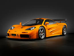 bright orange cars road racer the f1 lm