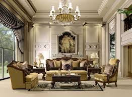 luxury traditional living room