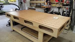 Work Bench Table Paulk Workbench Changes Jays Custom Creations