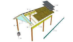 carport plans build a carport plans u2013 plans for building a wooden pdf