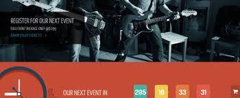 evento a free event template web template news