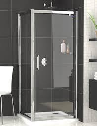 lauren pacific 760 x 1850mm hinged shower door aqhd76