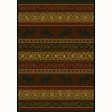 Rustic Cabin Lodge Area Rugs Lodge Area Rugs Rugs The Home Depot