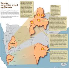 Map Of Yemen Yemen U0027s State Tribes Armed Conflict Map