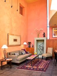 peach paint color houzz