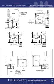 Plantation Floor Plans by Medinah Dream Finders Homes