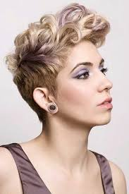 short hairstyle curly on top short pixie cuts for women with curly hair