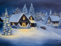 christmas cards traditional christmas lights decoration