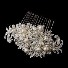 antique hair combs stress away bridal jewelry boutique silver and pearl